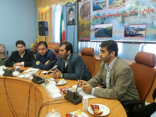 کشاورزان خسارت دیده پارس آباد از ۵۵درصد تخفیف آب بهاء برخوردار شدند