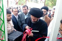 ساختمان جدید دفتر امام جمعه پارس آبادمغان افتتاح شد+تصاویر